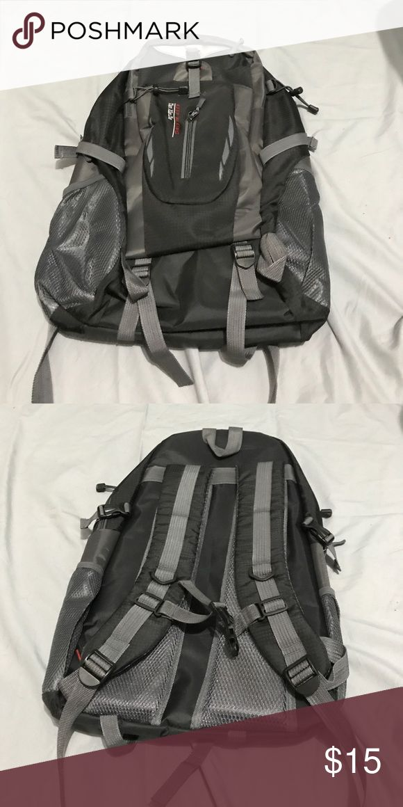 Never Used Outdoor Tan Xian Zhe Backpack Outdoor Backpack - black Bags Backpacks