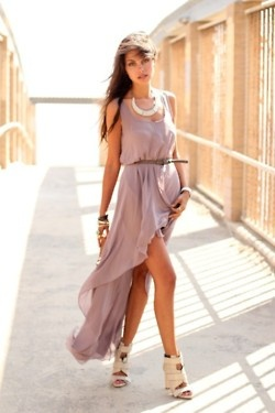 high low dress:): Fashion, Summer Dress, Style, Clothes, Dream Closet, Outfit, Dresses