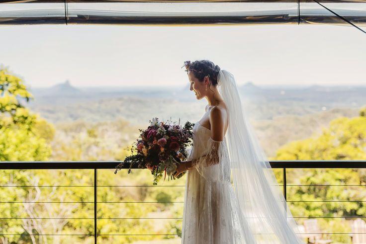 Bride | Nat + Dizz's Maleny Wedding | Brisbane Wedding Photographer | Evernew Studio