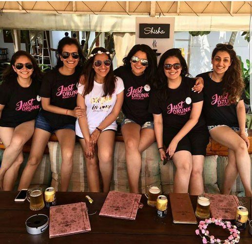 ed113a74 Indian bachelorette party ideas | Bachelorette Tshirt ideas | Drunk in love  | Just drunk Tshirts | Bride Tribe | Team Bride | Customised Tshirts | T- shirts ...