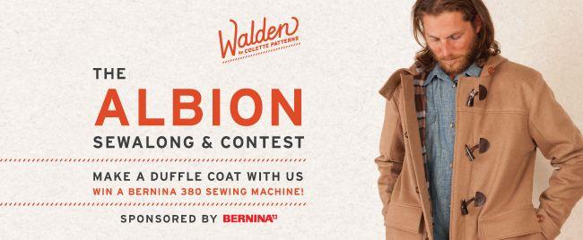 Albion Sewalong and Contest: Win a Bernina 380 + more!