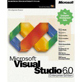 Microsoft Visual Studio 6.0 Enterprise Edition  http://www.bestcheapsoftware.com/microsoft-visual-studio-6-0-enterprise-edition-2/