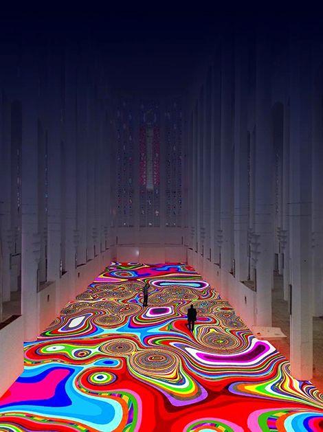 Installation Art: Magic Carpet / by Miguel Chevalier
