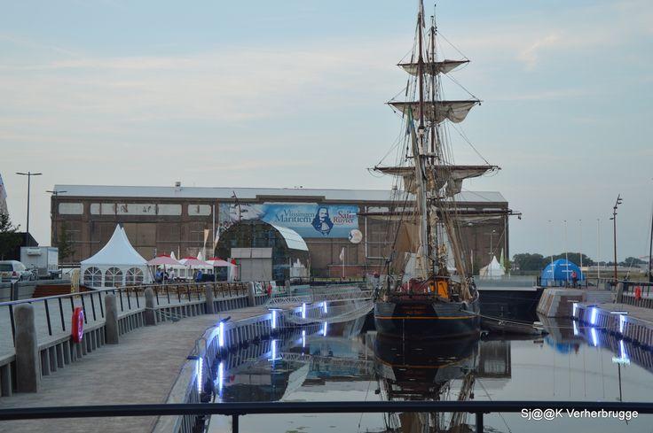Dokje van Perry: de avond voor Sail