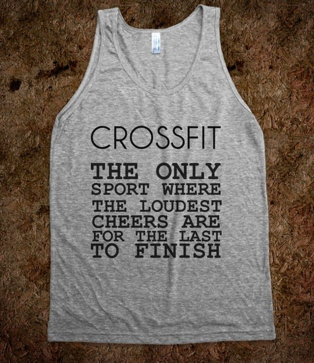 CROSSFIT, ispired like sweat in the eye, cuz I am burning and reaching for one more rep, well two,or three, na five will do, then we switch activity.
