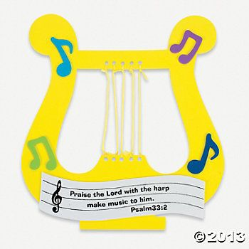 """Praise The Lord""; Harp Craft Kit"