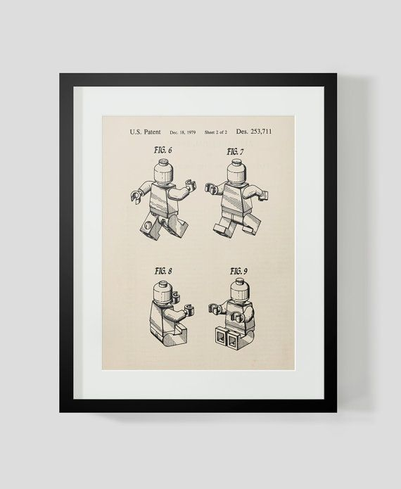 This vintage image has been digitally enhanced and printed on artist grade, archival, acid free, canva-paper to enhance the nature of the print. Computer monitors vary in color calibration so your final print may differ slightly from what your see on your screen. #lego #weihnachtsgeschenke #kinderzimmer