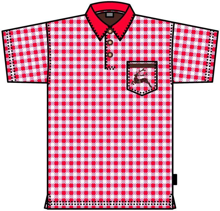 Poloshirt Oktoberfest - auch in Karo blau erhältlich!