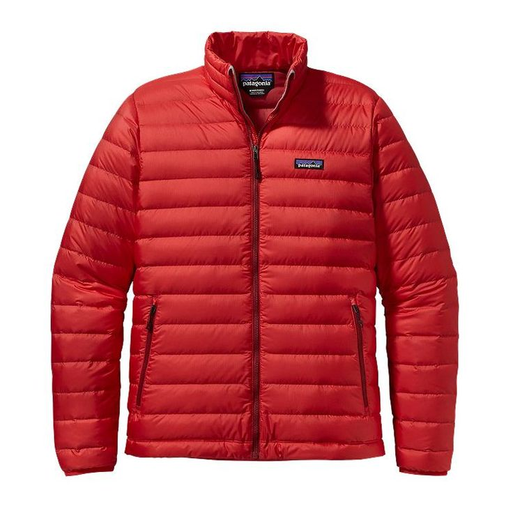 Patagonia Men\'s Down Sweater Jacket - French Red FRR