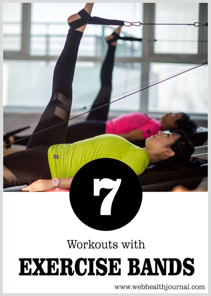 7 Workouts with Exercise Bands