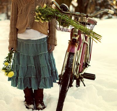 skirt sweater flowers cute