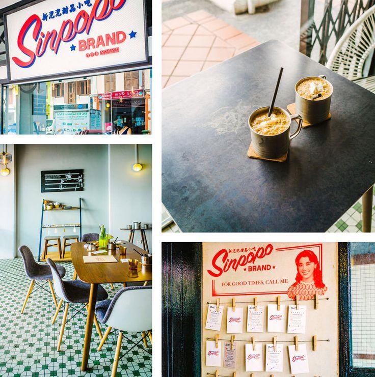 À faire à Singapour - Kopi peng (café glacé)
