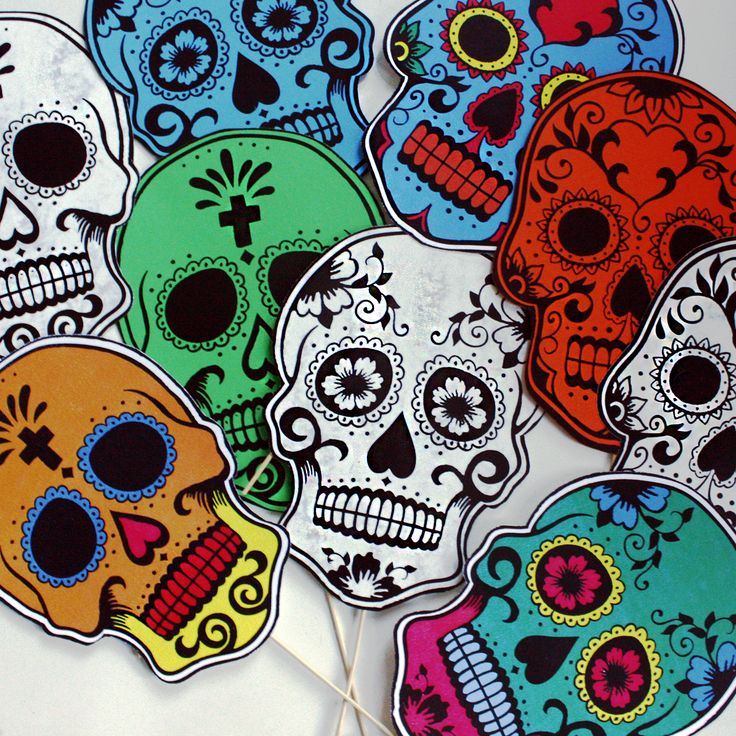 189 best Day of the Dead images on Pinterest Skulls, Day of dead - copy dia de los muertos mask coloring pages