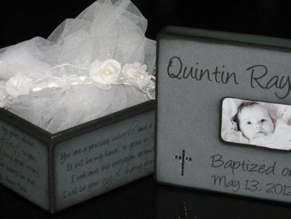 Personalized Baptism Gift For Godchild