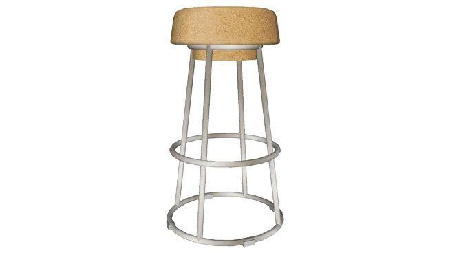 82107 Bar Chair Cork Bar Chairs Chair Cork