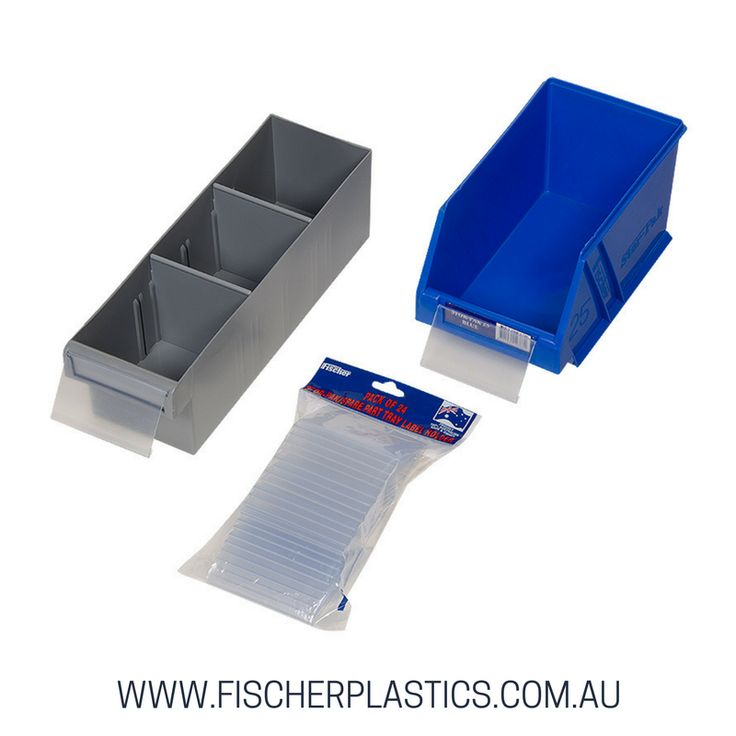 Our Fischer Plastic Products Stor-Pak/SP Tray Label Holders are the perfect addition to you existing storage solutions and will help you take your organising that one step further.  They are designed for displaying labels in our plastic storage containers.