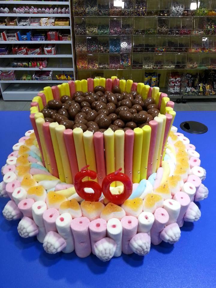 ¡Dulces 60! Impresionante tarta de cumpleaños que han preparado en Duldi Andorra.