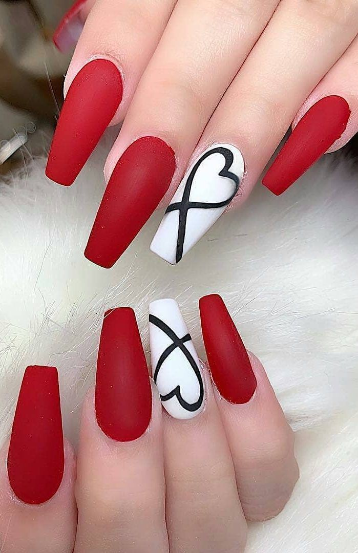 10 Lovely Nail Polish Trends For Fall Winter 2020 In 2020 Nail Designs Valentines Hot Nails Nail Designs