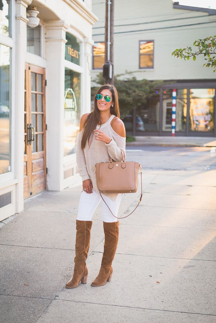 Cold Shoulder Sweater | A Southern Drawl