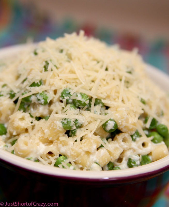 Pasta with Peas and Ricotta | Shorts, Pasta and Ricotta