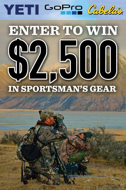 Win $2,500 in Outdoor Gear!