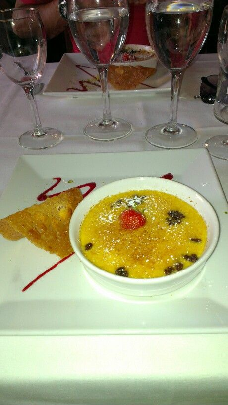 Creme brulee at walts