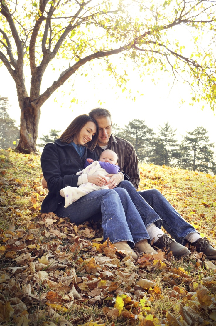 Family fall portrait photography