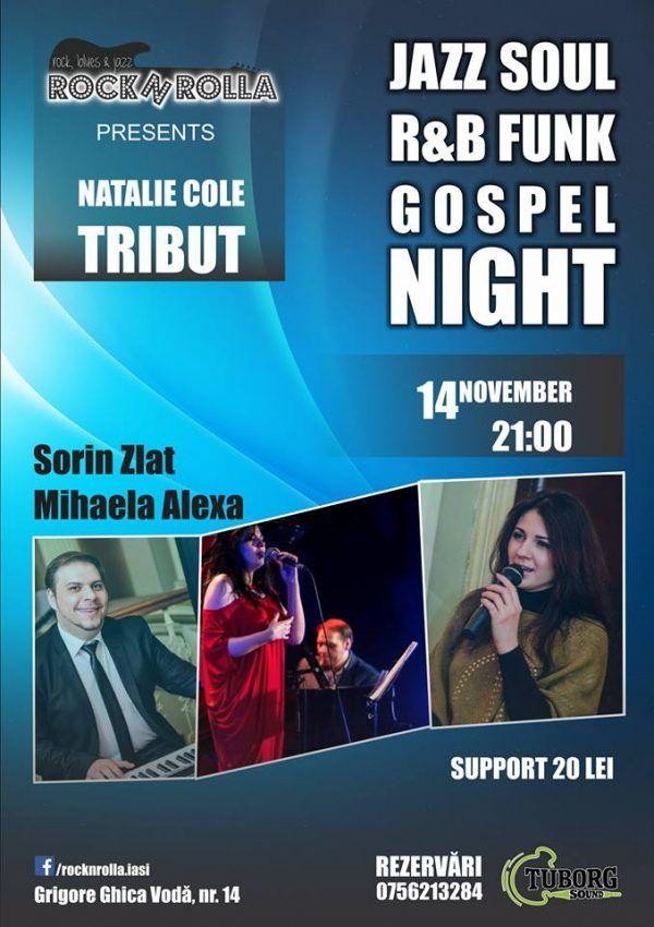 Natalie Cole Tribute @RocknRolla
