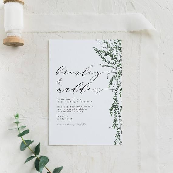 Pin By Anisha On Wedding Invites Simple In 2019