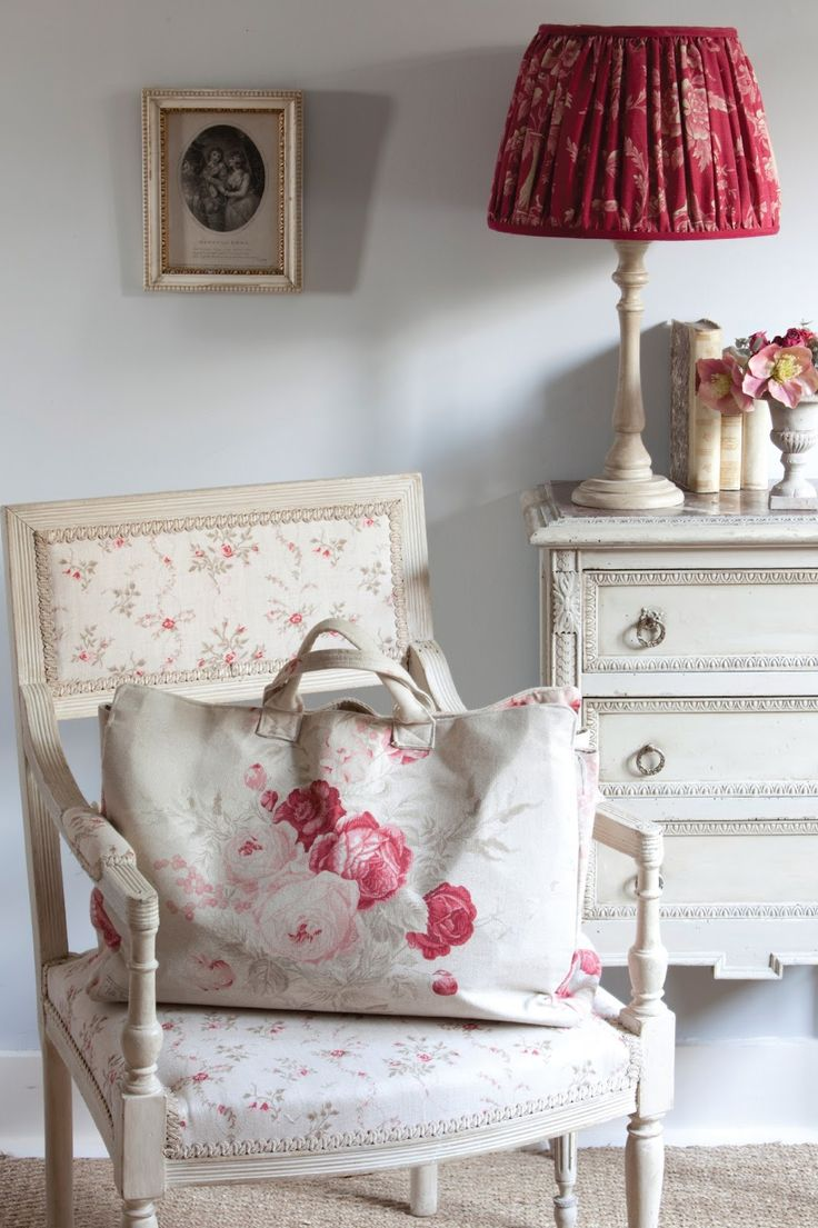 Perfect for a baby girl nursery! Love the color scheme and feminine detail!!