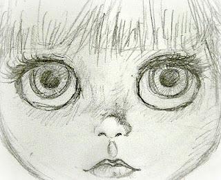 Face sketch.