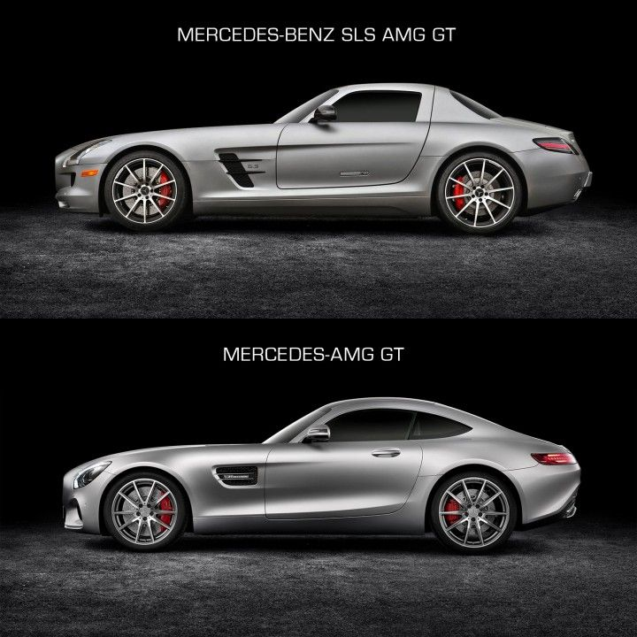 Awesome Mercedes Benz SLS AMG GT And Mercedes AMG GT   Design Comparison