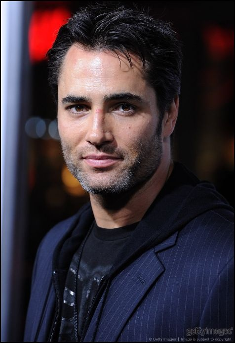 Victor Webster with natural grey hair he could be perfect for victor
