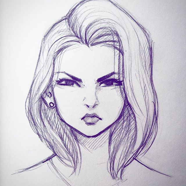 Quick Lunch Time Scribble. #sketch #doodle #art