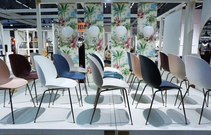 Stockholm Furniture Fair 2017: Gubi plastic beetle chair