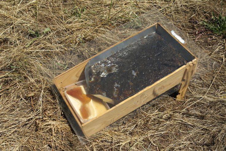 """As I was looking at a piece of leftover metal sheet from building the owl boxI realized we could use it to build a solar wax melter. Bees make comb to store honey and polen and as """"wombs"""" for new..."""
