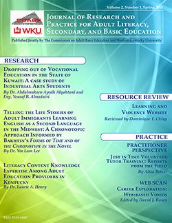 Journal Of Adult Education 18