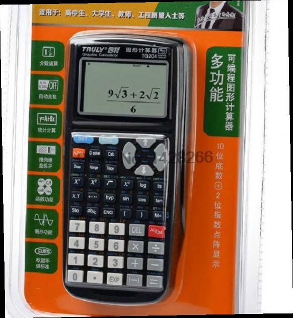 41.66$  Buy here - http://alizmi.worldwells.pw/go.php?t=32298071715 - 2016 Sale Rushed 10 Graphic Calculator Battery Led Calculator Calculadora Grafica Tg204 Calculator Graphic Students For Sat/ap
