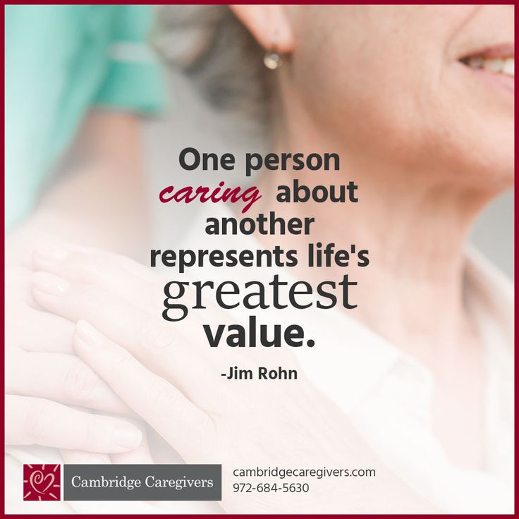 Cambridge caregivers is a personal care provider and we