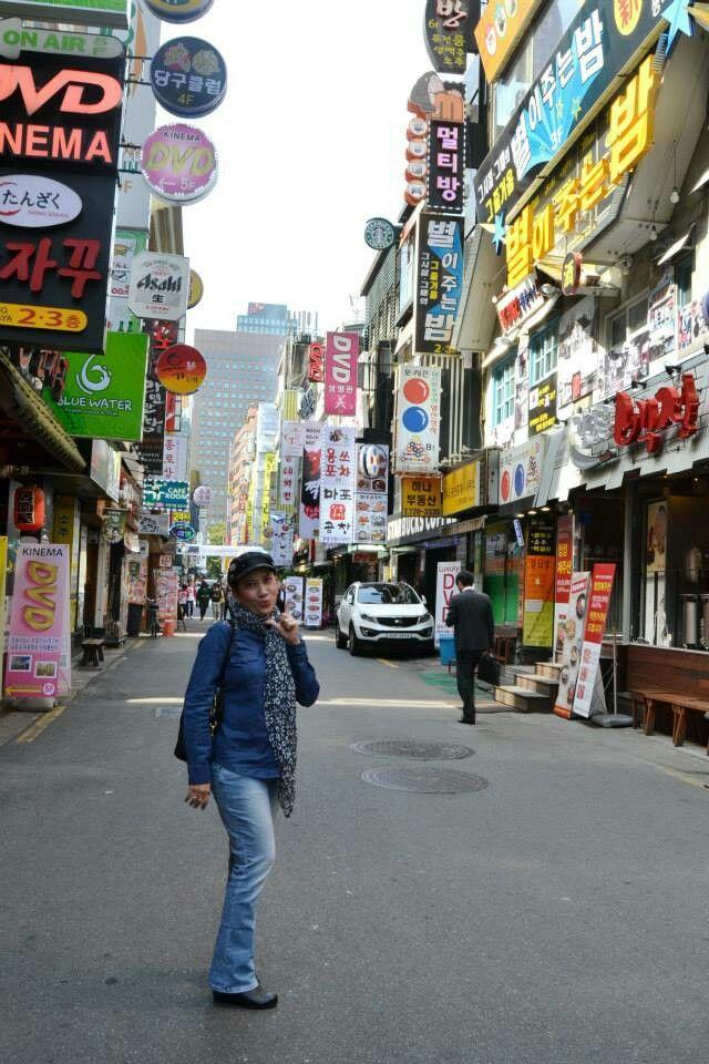 Seoul Korea @ Jongno street
