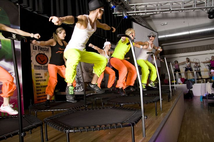 Jumping Fitness excersizing
