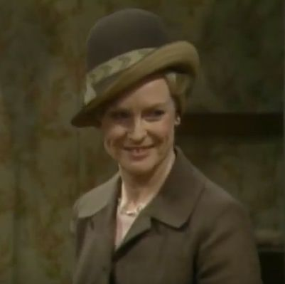 "When she smiles Mrs D can light up the room. Which is handy as she's visiting the rather dreary ""halfway house""."