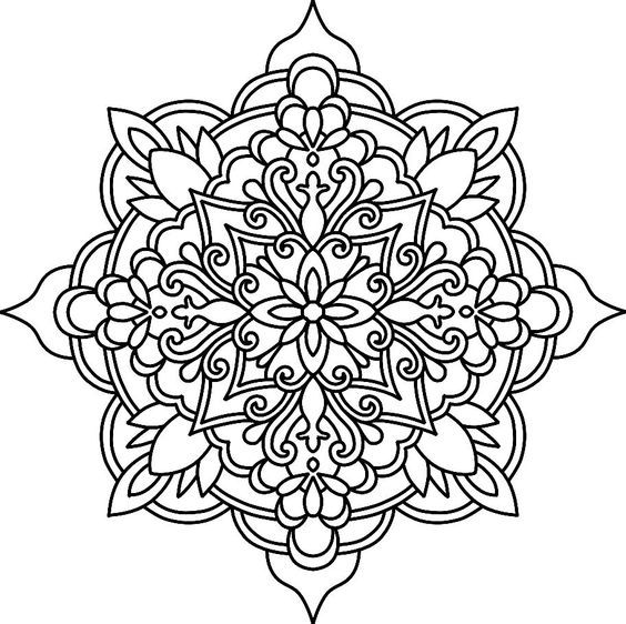 25 Best Ideas About Mandalas A Color On Pinterest Arte
