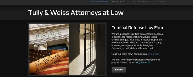 California criminal defense attorney.