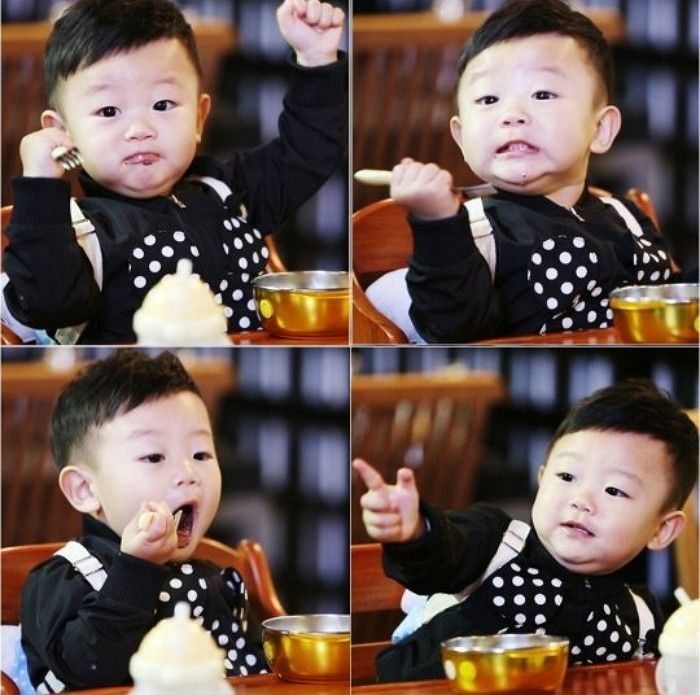 "Daebak proves that he is a mukbang (eating broadcast) master in new ""The Return of Superman"" stills. On June 11, the show's producers revealed a series of photos showing Daebak's energetic reaction to trying eel for the first time in his young life. According to the producer..."