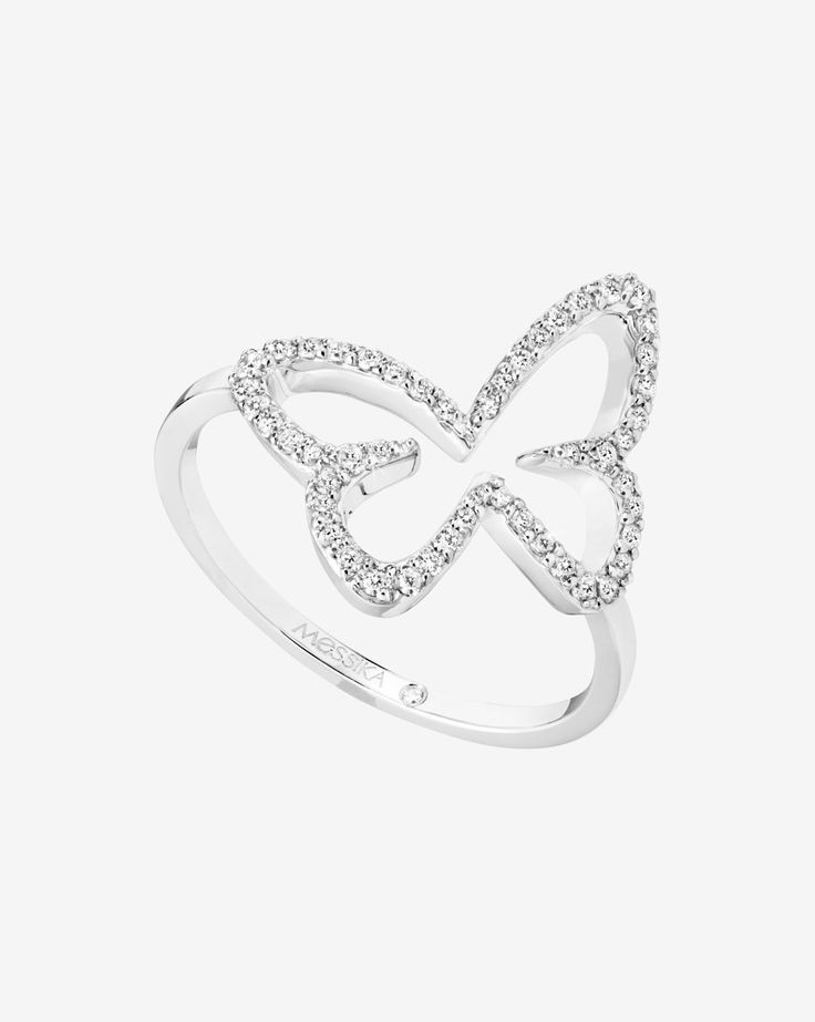 Collier Butterfly Ajouré - Collection Butterfly Messika Joaillerie