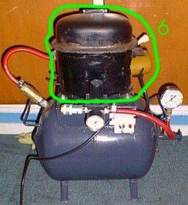 Silent Air Compressor Work Shop Air Compressor