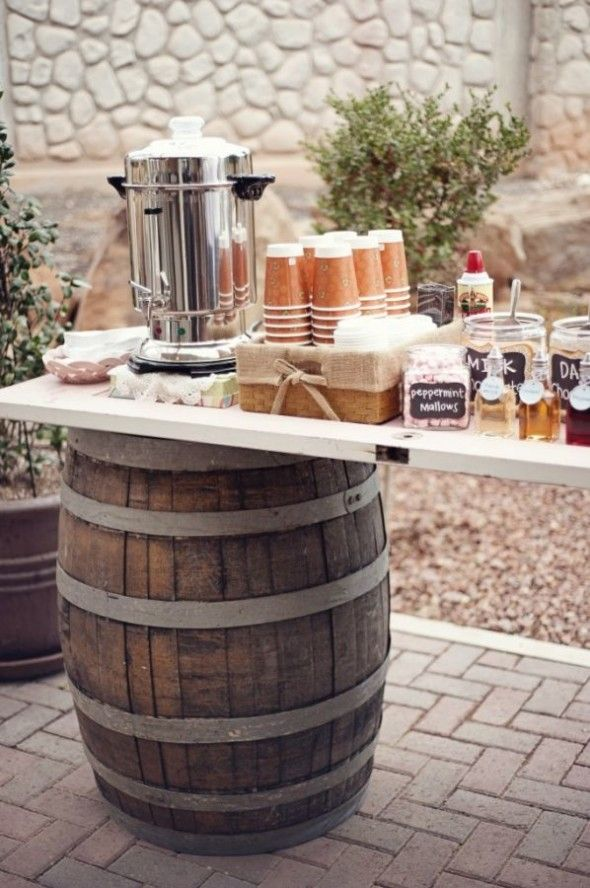 yourfairytaleawaits.com: Hot Chocolate Bar Ideas for your Winter Wedding!