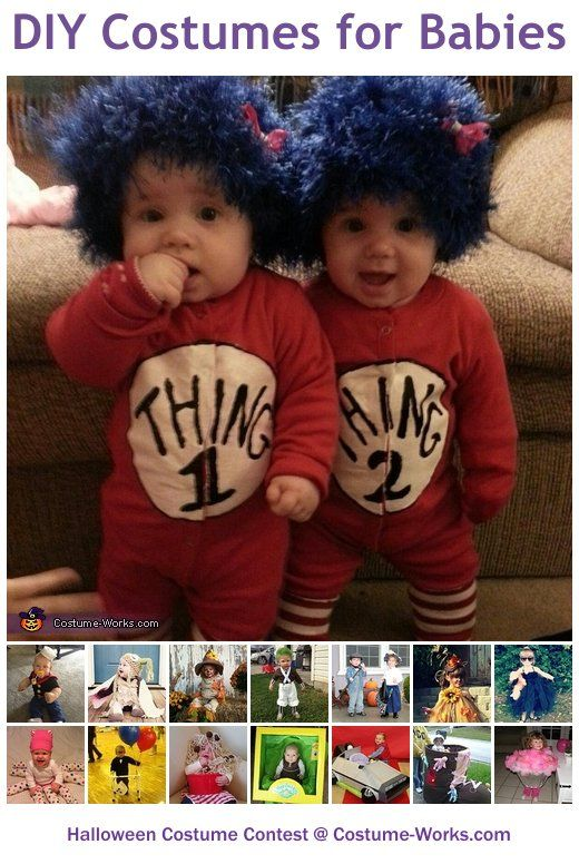 Homemade Costumes for Babies - a lot of homemade costume ideas!