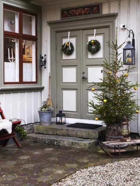DESDE MY VENTANA: NAVIDAD EN BLANCO SOBRE BLANCO WHITE ON WHITE CHRISTMAS